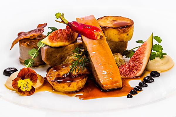 Courgette Restaurant lunch menu